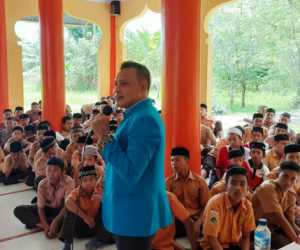 SMP Islam Muslim Hands Nagan Raya Adakan Sosialisi Bahaya Narkotika