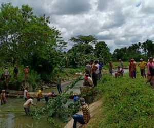 Lapor..! Petani Nagan Raya Mengalami Krisis Air Sawah