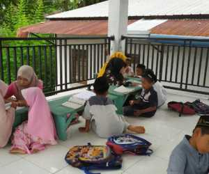 GenBI Komisariat UTU Adakan Kegiatan Mengajar di TPQ