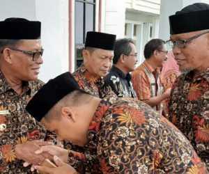 Wakil Bupati Lepas Keberangkatan Kafilah MTQ Aceh Jaya
