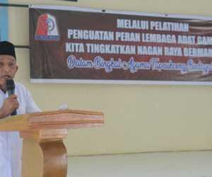 Wakil Bupati Buka Pelatihan Penguatan Peran Lembaga Adat Gampong