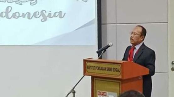 Rektor UTU Menjadi Pembicara Utama SSIK UPM di Malaysia