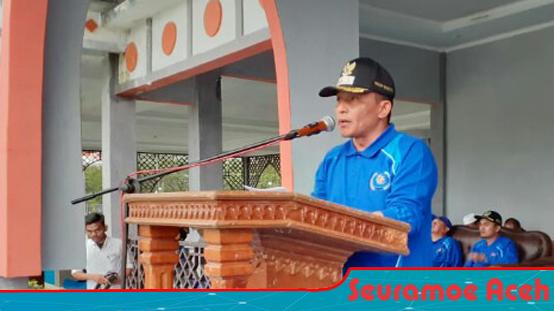 Chalidin Oesman Secara Resmi Buka Porkab Nagan Raya 2019