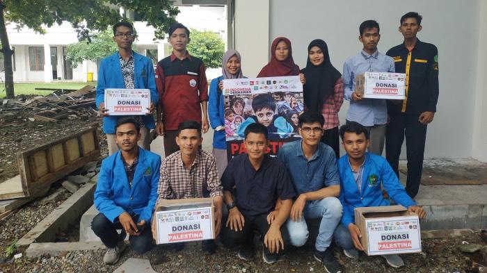 Mahasiswa Himmaptika UIN Ar-Raniry Gelar Aksi Peduli Palestina