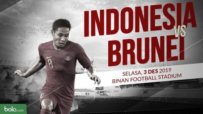 Indonesia Targetkan Kemenangan Melawan Brunai Darussalam