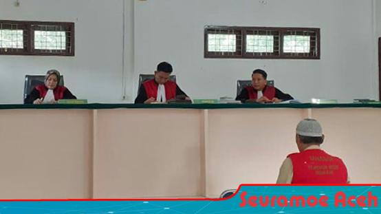 Pelaku Pelecehan Seksual di Nagan Raya Terancam 18 Tahun Penjara
