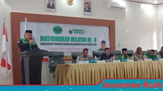 Rapi Abdya Laksanakan Musyawarah Wilayah Ke V