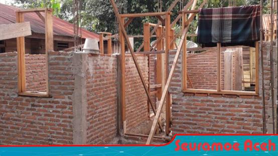 Ratusan Proyek Rumah Bantuan di Agara Tanpa Plang Nama