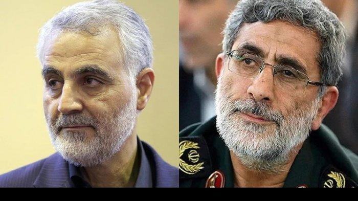 Brigadir Jenderal Esmail Qaani Bersumpah Akan Balas Dendam ke AS
