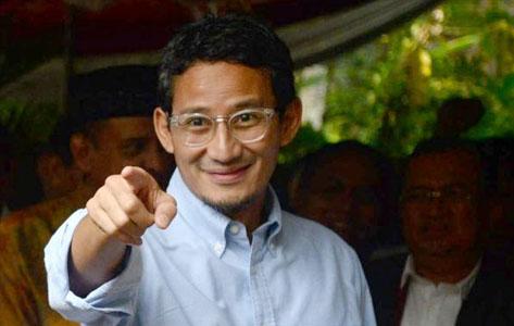 Sandiaga Uno Tak Dukung Mantu Jokowi, Ini Kata Pengamat