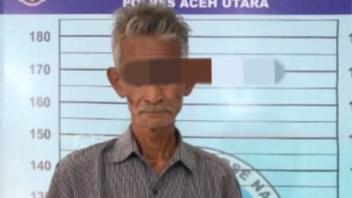 Di Aceh Utara, Nek Tu Berusia 65 Tahun Ditangkap Karena Nyabu