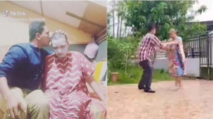 Viral di Media Sosial, Pria Sejati Asal Aceh Tinggalkan Pekerjaan Demi Rawat Istri Idap Kanker