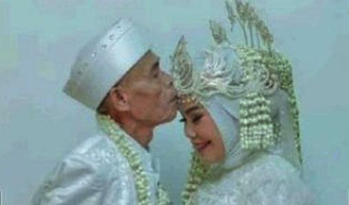 Ajab! Belum Sebulan Nikah, Kakek Ini Cerai Istri Berusia 17 Tahun