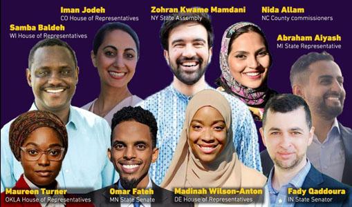 Saparuh Kandidat Muslim Terpilih Sebagai Anggota Parlemen AS
