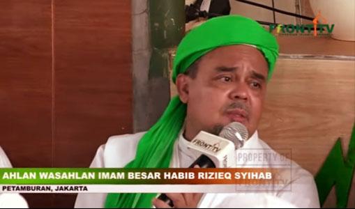 Habib Rizieq: Lonte Hina Habib Dijaga, Kacau Tidak?