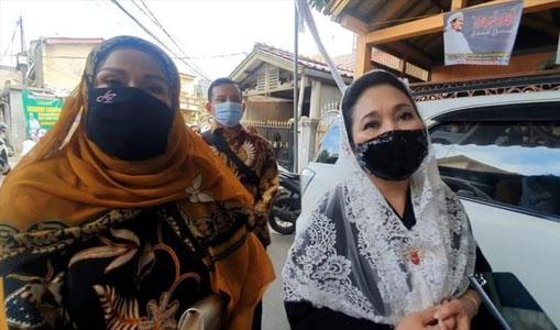 Titik Soeharto Hadiri Resepsi Pernikahan Putri Habib Rizieq Shihab
