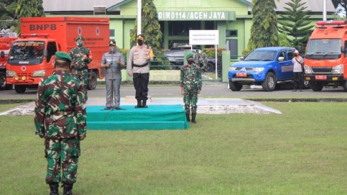 Aceh Jaya Siapkan Pasukan Hadapi Bencana Alam