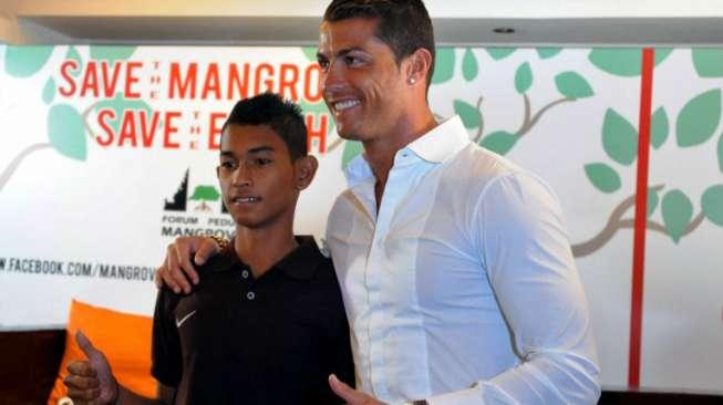 Martunis Bagikan Video Awal Pertemuan dengan Ronaldo