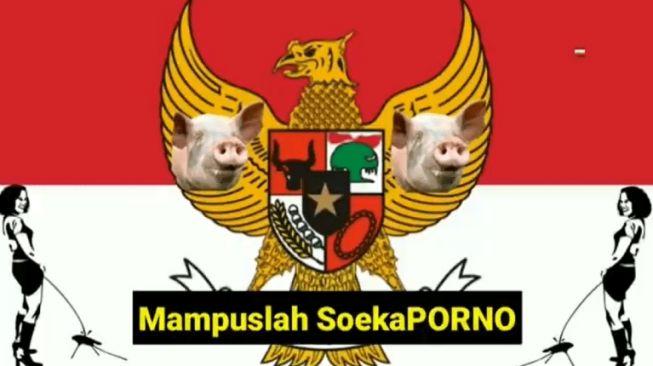 Viral..! Lagu Indonesia Raya Dilecehkan: Matilah Jokoko, Mampuslah Soekaporno
