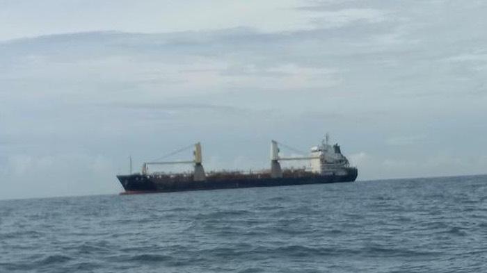 Kapal Pengangkut Material PLTU 3-4 Kembali Tiba di Aceh Jaya