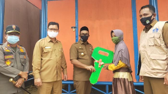 Dua Korban Amukan Gajah di Aceh Jaya Dapat Rumah Sementara