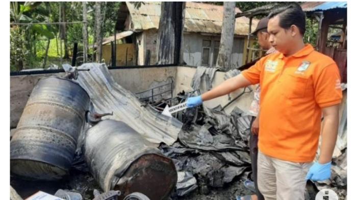 Rumah Rata dengan Tanah, Satu warga Sinabang Ikut Terbakar
