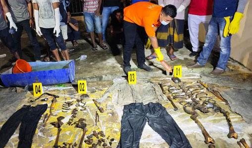 Ini Identitas Dua Kerangka Manusia Ditemukan di Aceh Timur