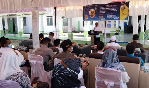 Pemkab Aceh Jaya Laksanakan Vaksinasi COVID-19 di RSUD-TU