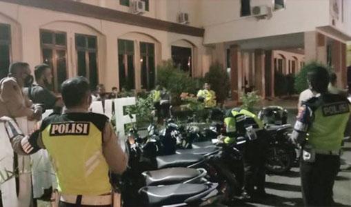 Terlibat Balap Liar, Sejumlah Sepeda Motor Diamankan Polisi