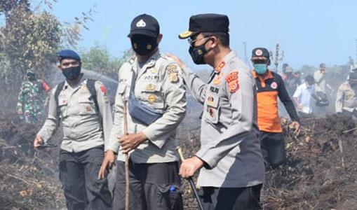 Kapolda Aceh Ingatkan Pembakar Lahan Akan Dintindak