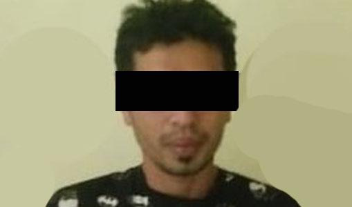 Simpan Sabu Dibawah Taplak Meja, Pria Ini 'Dibeureukah' Polisi