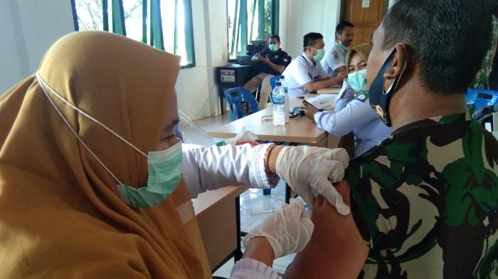 Personil Kodim Abdya Jalani Vaksinasi Covid-19