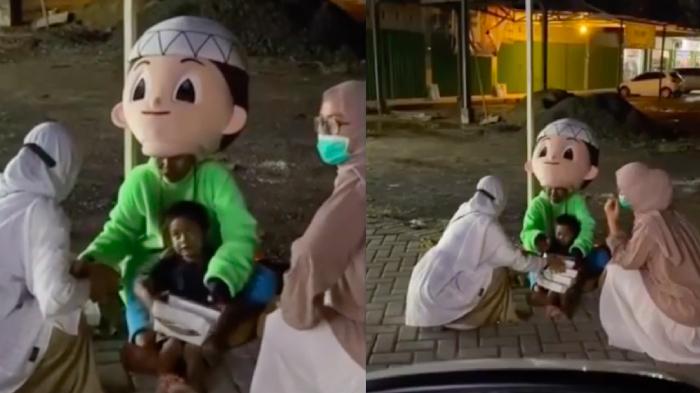 Video Viral, Nenek Rela Jadi Badut Demi Sesuap Nasi, Tetap Tersenyum Meski Lelah