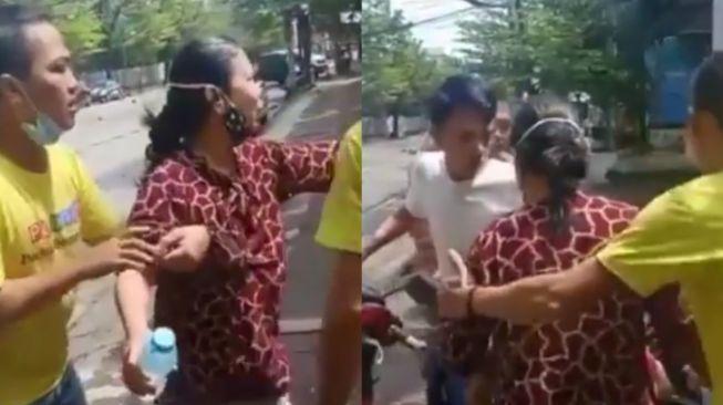 Viral Ibu-ibu Korban Ledakan Bom Dibawa ke RS Pakai Motor