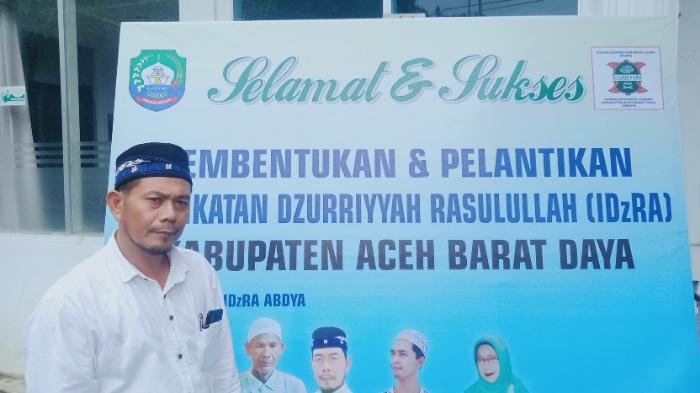 Said Mukhtar Pimpin Ketua DPC IDzRA Abdya