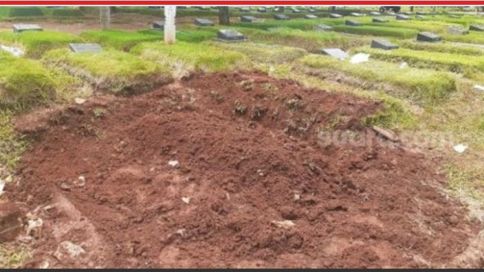 Kuburan Zakiah Aini Wanita Teroris di Mabes Polri Tak Bernisan