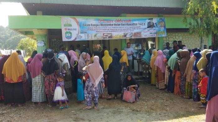 Pemkab Abdya Buka Empat Titik Pasar Murah Jelang Ramadhan
