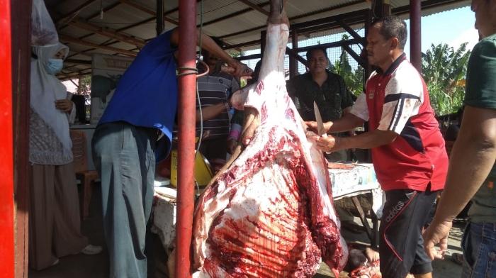 Jelang Meugang, Harga Daging di Blangpidie Abdya Tembus Rp 180 Ribu Per Kilogram