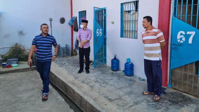 Kadiv Pemasyarakatan Kanwil Kemenkumham Aceh Sidak Rutan di Banda Aceh