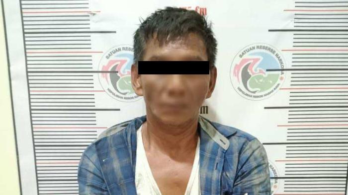 Tersandung Kasus Narkoba, Pria Berusia 50 Tahun Ditangkap Polisi