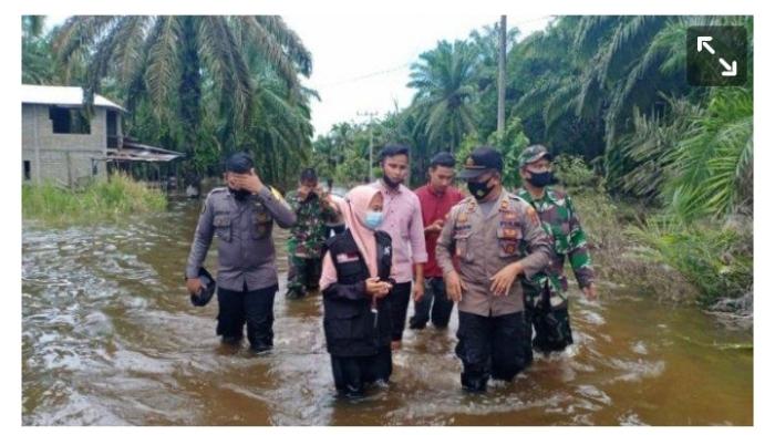 Puluhan Rumah di Aceh Selatan Terendam Banjir Luapan Sungai Gelombang Subulussalam