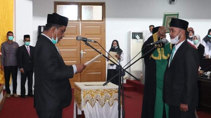Ketua DPRK Pidie Jaya Lantik Anggota Dewan dari PPP