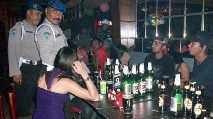 Polisi Amankan 48 Pengunjung, Dalam Razia Tempat Hiburan Malam di Medan