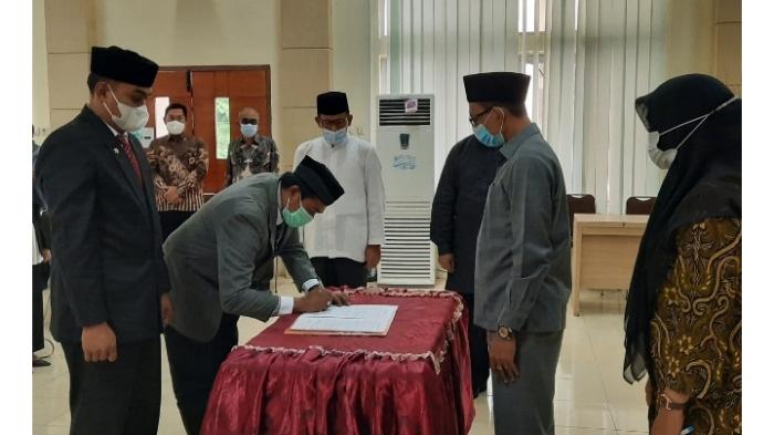 Bupati Aceh Selatan Lantik sejumlah Pejabat Eselon II, III dan IV