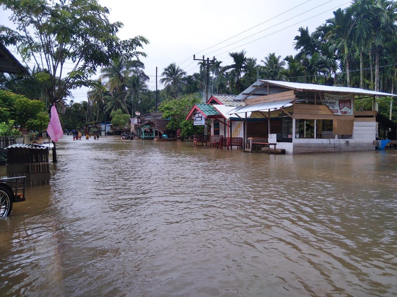 Kembali, Ratusan Rumah Warga dan Sekolah di Aceh Jaya Terendam Banjir