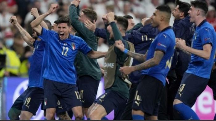Tekuk Inggris, Timnas Italia Juara Euro 2020