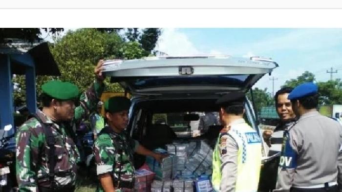 Aparat Gabungan TNI-Polri Buru Para Napi yang Kabur di Abdya