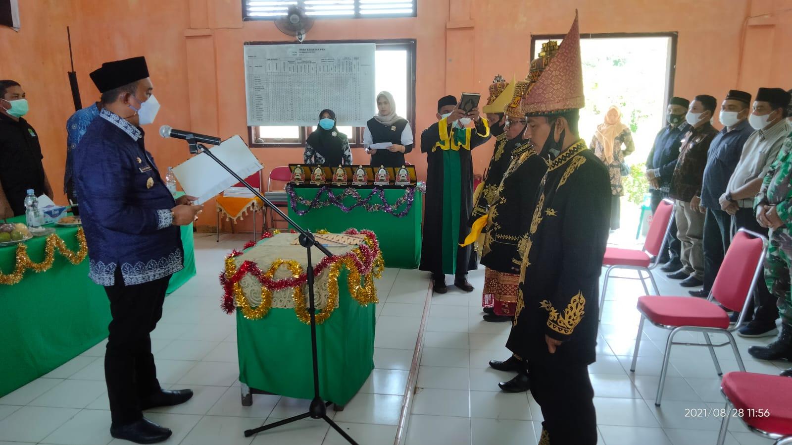 Tiga Imum Mukim Dilantik, Ini Kata Bupati Aceh Jaya