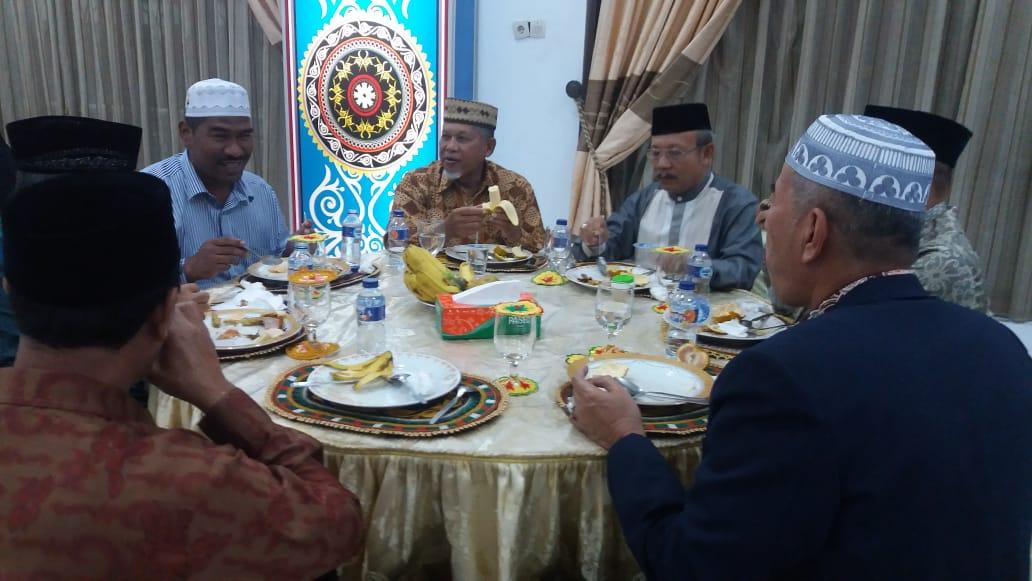 Peserta Silakwil ICMI Aceh, Hadiri Jamuan Makan Malam di Pendopo