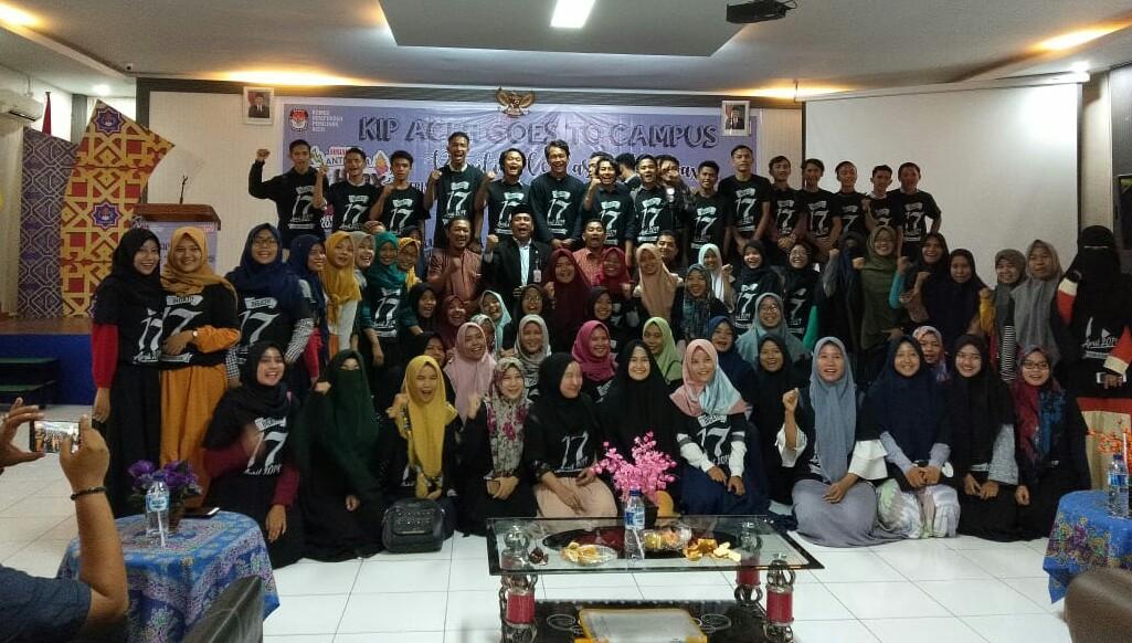 KIP Aceh Sosialisasi Pemilu di Universitas Teuku Umar